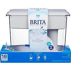 UltraMax Water Filter Dispenser, White, 18 Cup