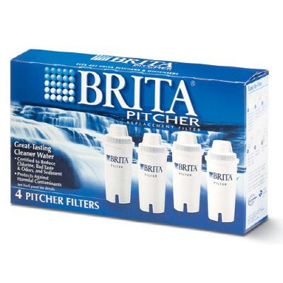 Brita Brita Pitcher Replacement Filters, 4-pack