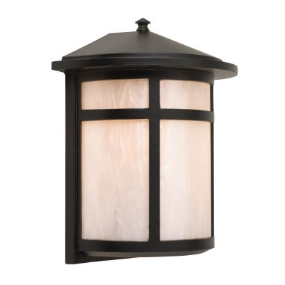 Residence Series, Black with Pearled Acrylic Diffuser, Wall Mount 81406BK Canada Discount
