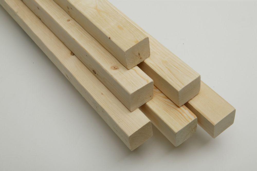 2x2x8 Bois de construction