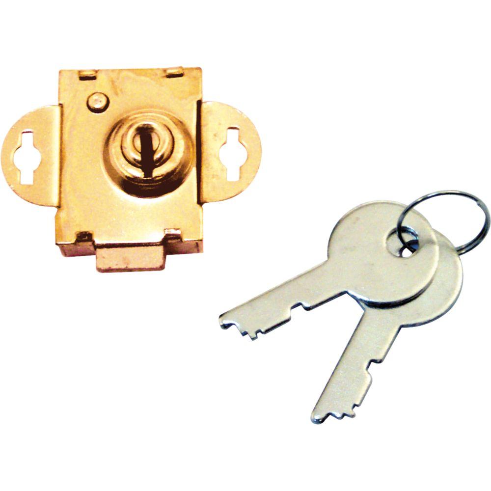 Brass Keyed Mail Box Lock