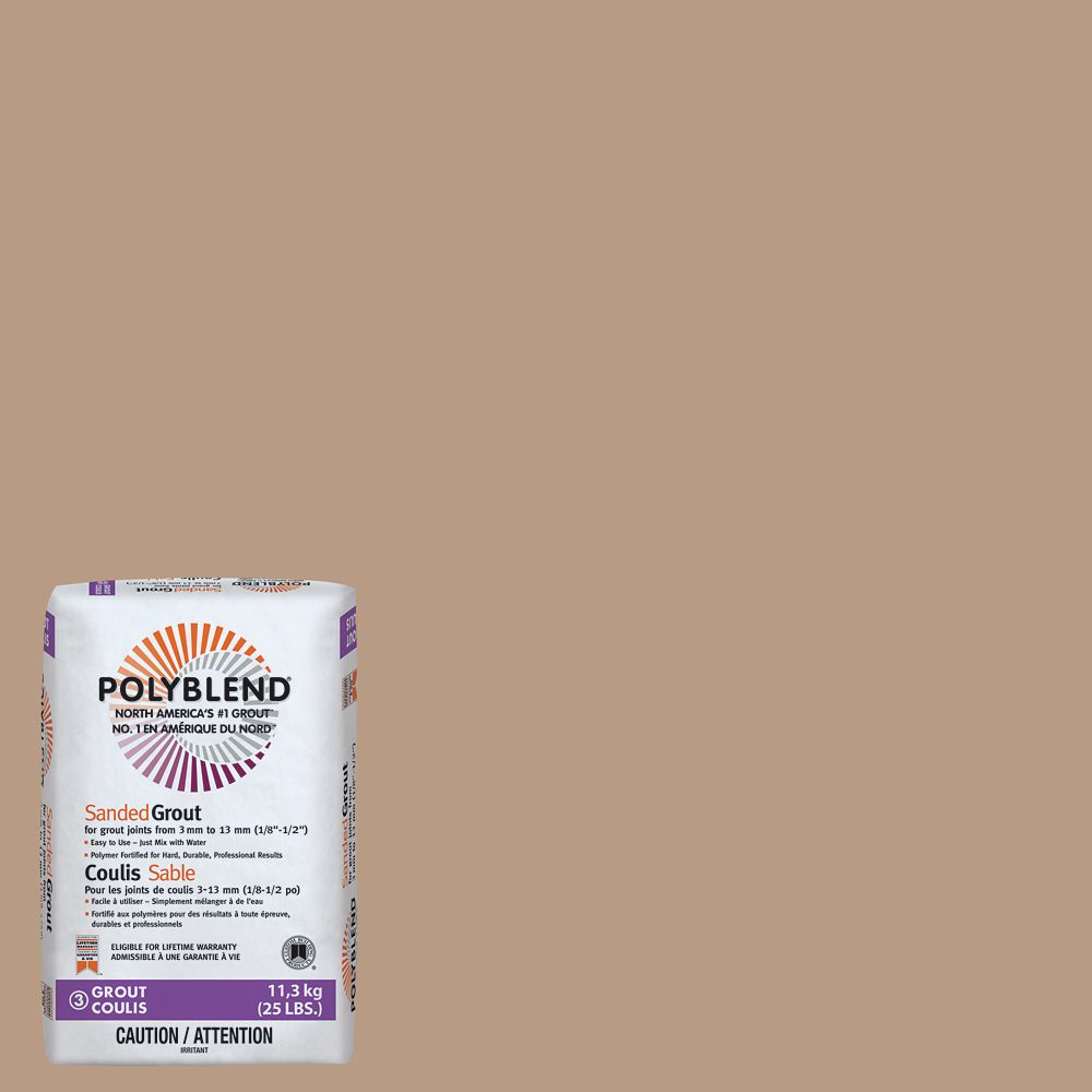 #180 Sandstone 11.3Kg Sanded Grout CPBG18025 Canada Discount