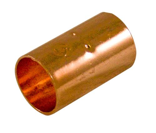 Fitting Copper Coupling 1-1/4 Inch Copper To Copper