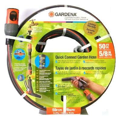 """Gardena 5/8"""" x 50' hose"""