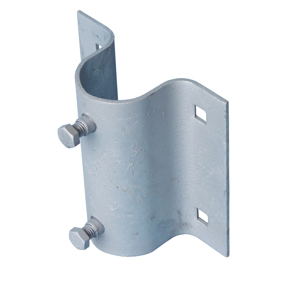 Stationary Dock Galvanized Steel Side Leg Holder
