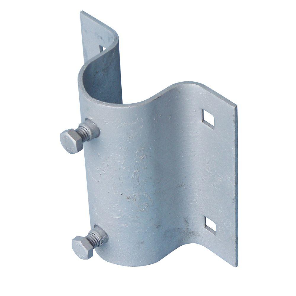 Stationary Dock Galvanized Steel Side Leg Holder