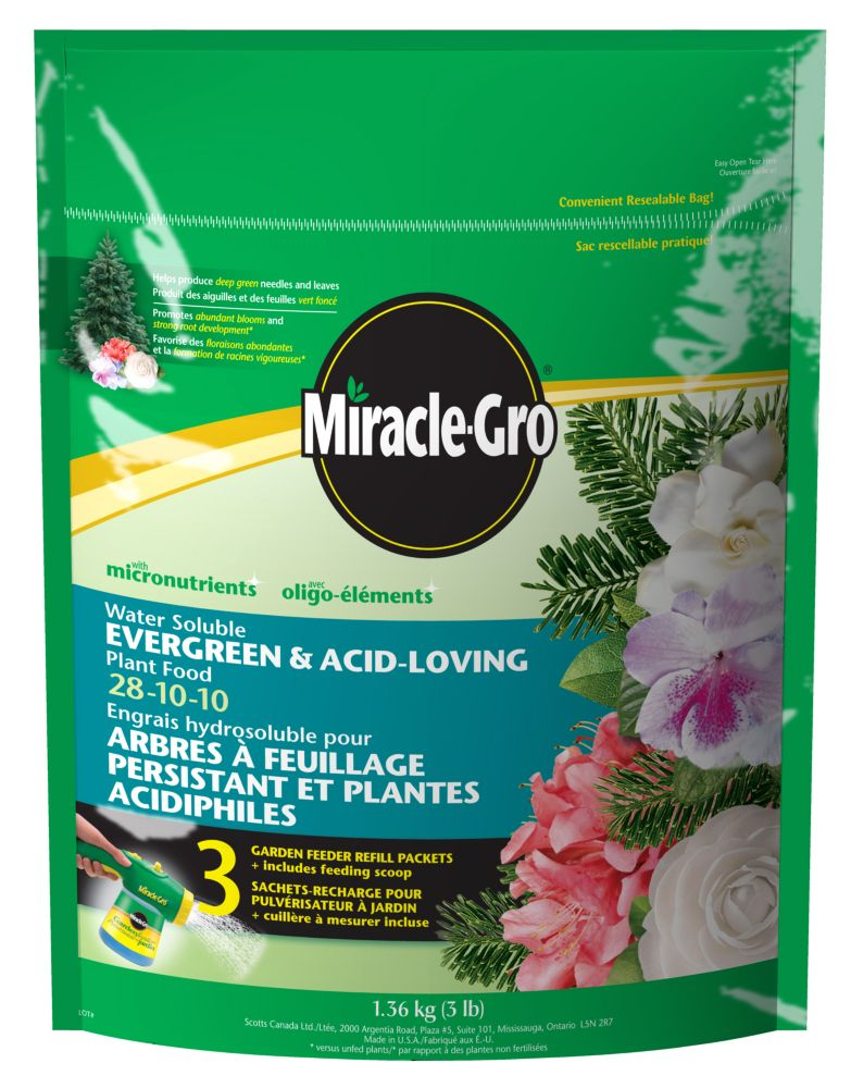 Miracle-Gro Water Soluble Evergreen Tree & Shrub Plant Food