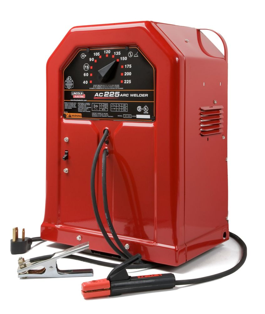 Lincoln Electric Weld Pak 180hd Wire Feed Welder The Home Depot Canada Cost To Replace Aluminum Wiring Ac 225 Stick