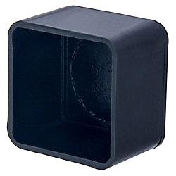 Paulin Capuchons de sécurité carrés de 3/4 pouce de diamètre extérieur