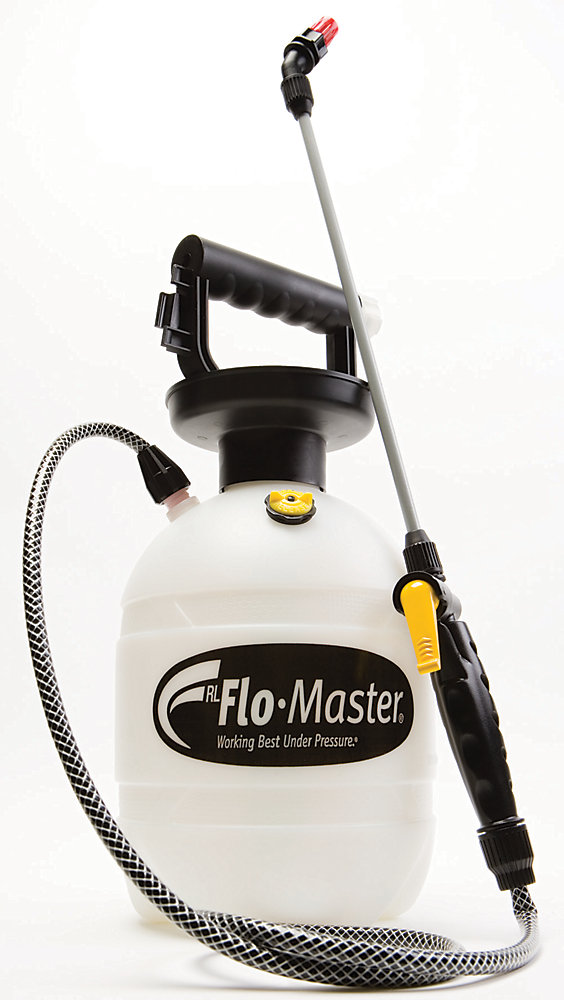 Pulvérisateur, 3,8 litres (1 gallon US), réservoir en polyéthylène blanc translucide