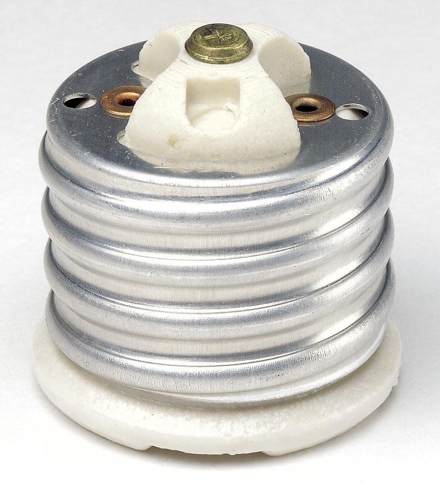 Mogul-Medium Base Incandescent Socket Adapter