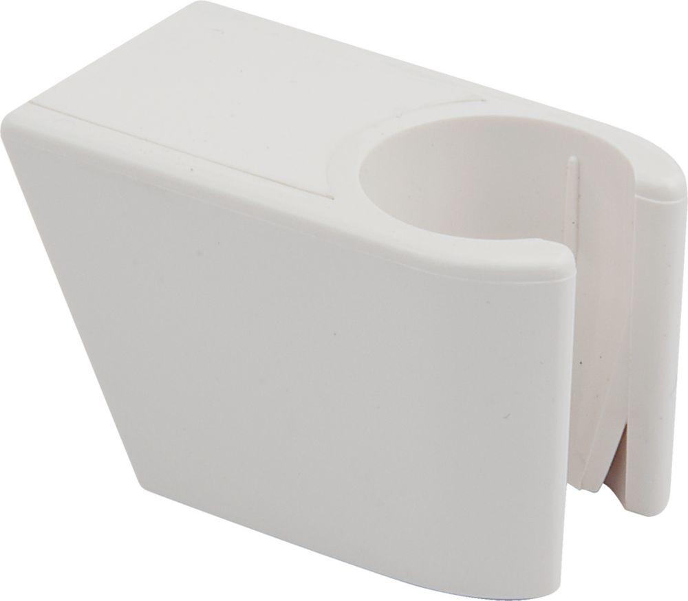 Shower Wall Bracket, White