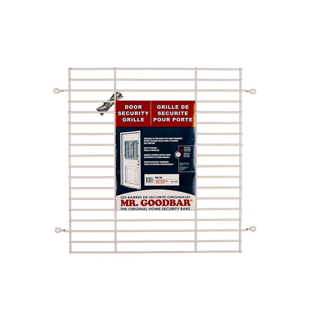 26-inch Door Security Grille
