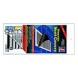 Dundas Jafine Couvercles aimantes pour sorties de ventilation, blanc, 4 po x 10 po