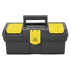 12-1/2-inch Tool Box with Lid Organizer