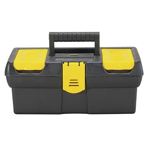 STANLEY 12-1/2-inch Tool Box with Lid Organizer