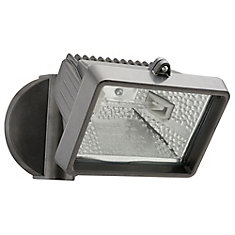 150W Halogen Security Floodlight in Bronze