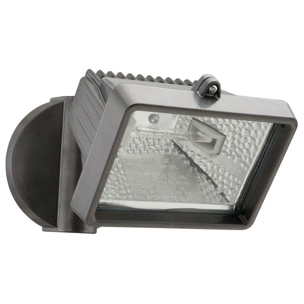 150W Halogen Security Floodlight - Bronze