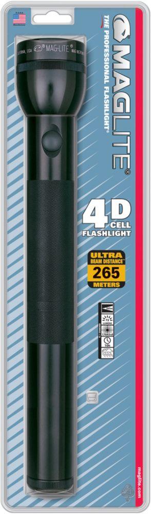 Maglite 4D Cell Flashlight - Black