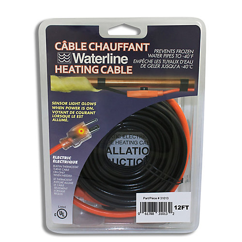 12 ft. Pipe Heating Cable