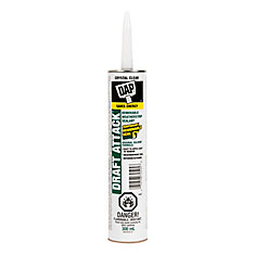 DAP Draft Attack Removable Caulk Plus Silicone