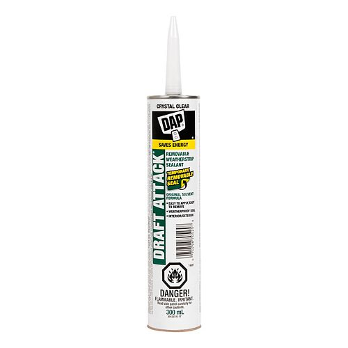 DAP Draft Attack Removable Weatherstrip Sealant