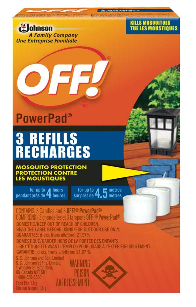 Recharges Protection contre les moustiques Powerpad de
