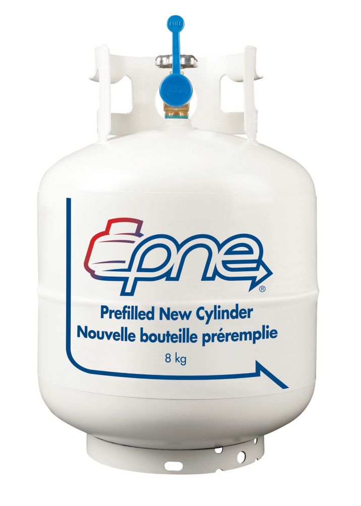 Propane Filled BBQ Cylinder