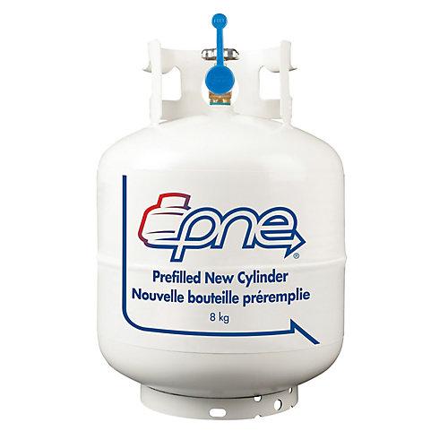 Propane Filled BBQ Cylinder