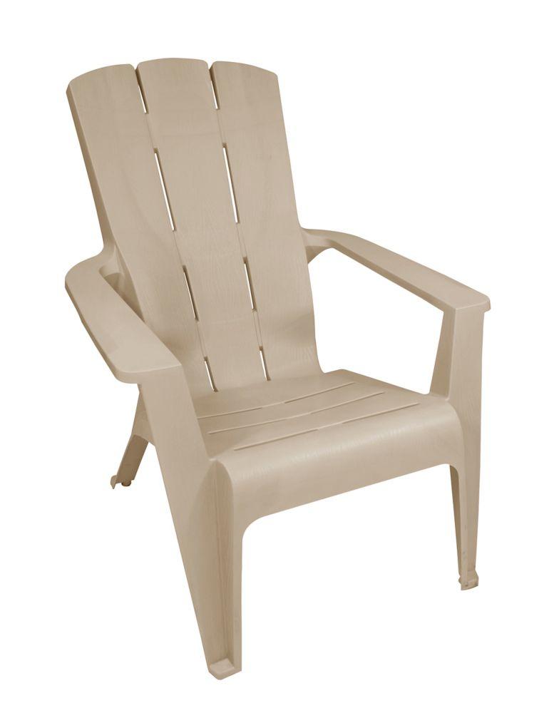 chaise Adirondack a Contour, grès