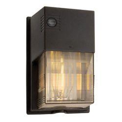 Lithonia Lighting 70W High Pressure Sodium Wall Light  Bronze