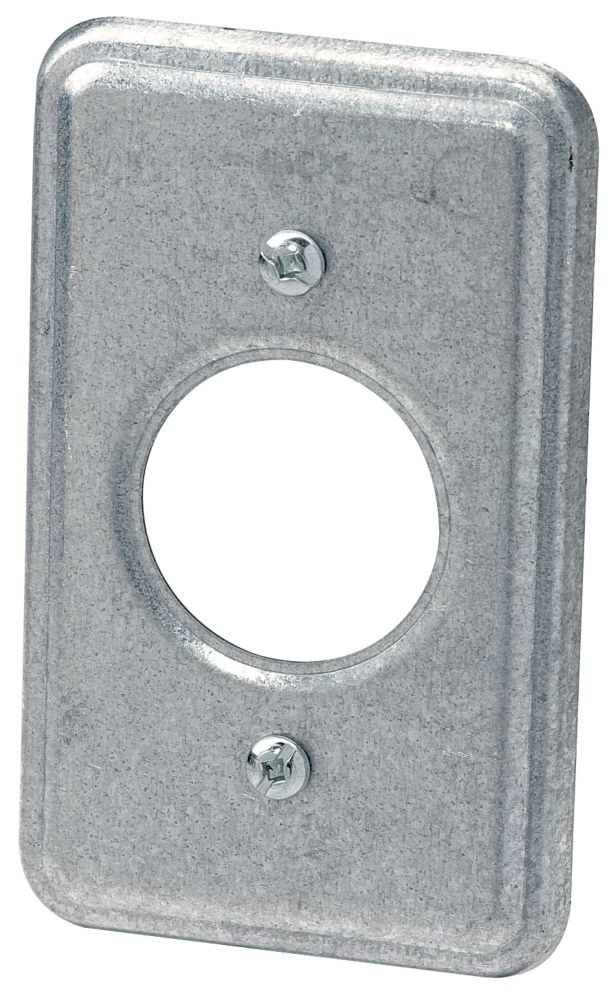 Utility 15A Single Receptacle Cover