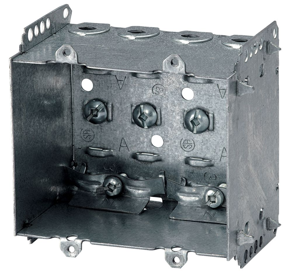 Device Box 2-1/2 In. Deep 2 Gang Loomex