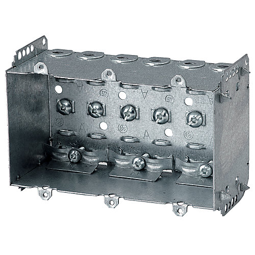 Device Box 2-1/2 In. Deep 3 Gang Loomex