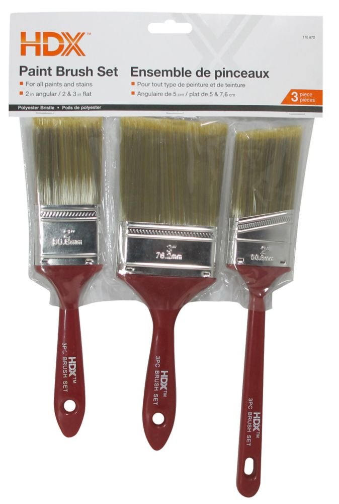 Brush 3Pack - Poly