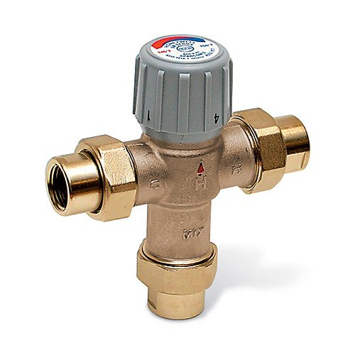 Honeywell Honeywell Thermostatic Mixing Valve | The Home Depot Canada