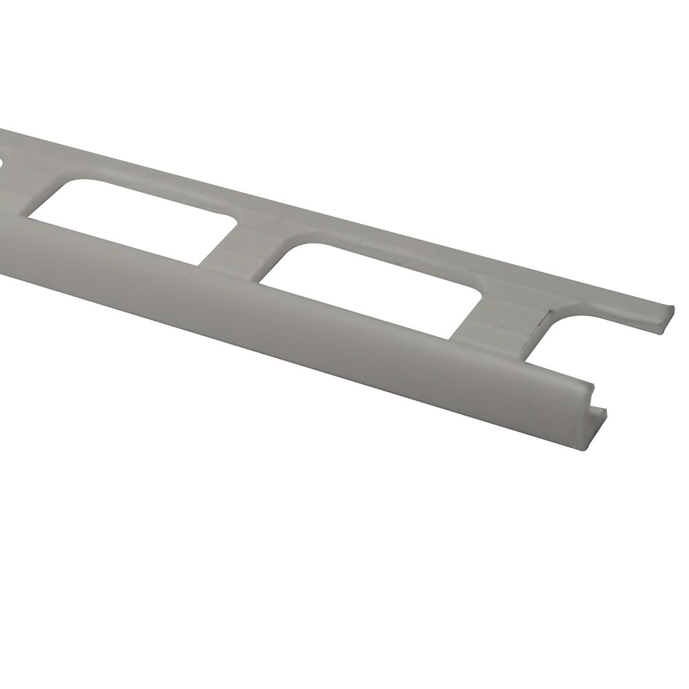 Shur Trim Ceramic Vinyl Tile Edge, White - 3/16 Inch (4mm)
