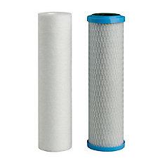 2-Pack LCV Filters (1 sediment, 1 LCV carbon)
