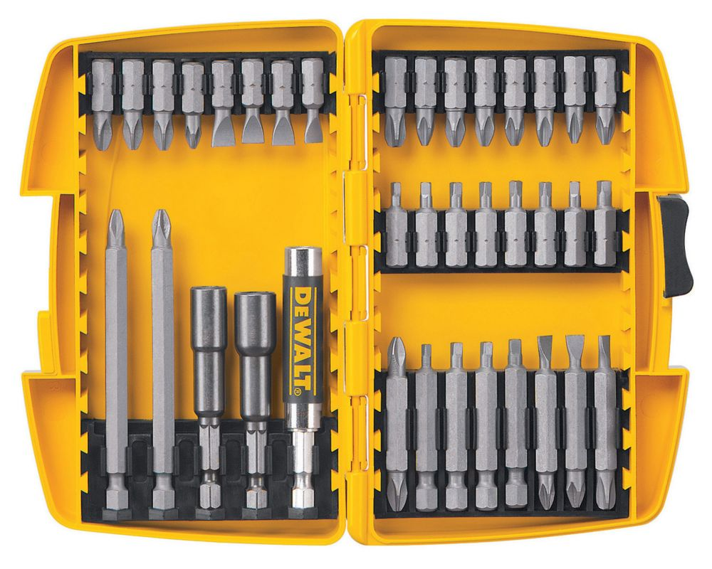 37-Piece Screwdriver Set with Recess