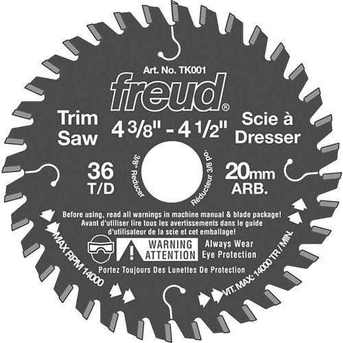 Freud 4 3/8 In. Trim Saw Blade - 36 Teeth