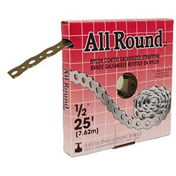 Dahl All Round Strapping, Nylon Coated, 1/2-inch x 25 Feet