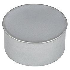 4 Inch Duct Cap Round No Crimp