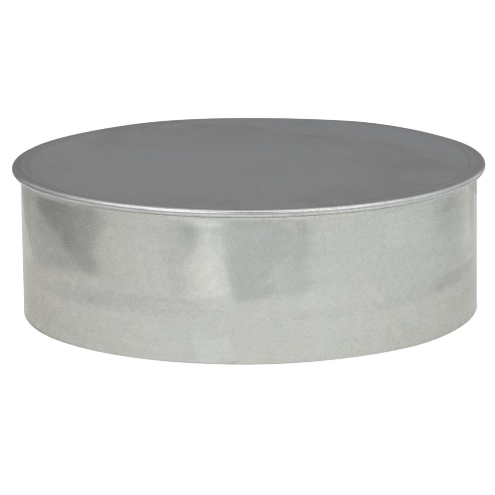6 Inch Duct Cap Round No Crimp