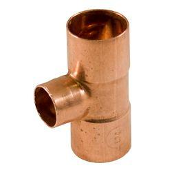Aqua-Dynamic Fitting Copper Tee 3/4-inch x 1/2-inch x 1/2-inch Copper To Copper To Copper