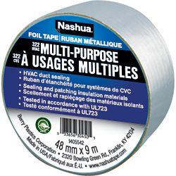 Nashua Tape 48mm x 9.1m 322 À Usages Multiples
