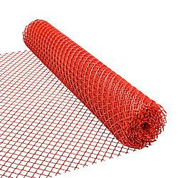 HDX Clôture de sécurité - 48 pouces x 50 pieds - Orange