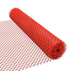 Safety Fence - 48 inches x 50 feet - Orange