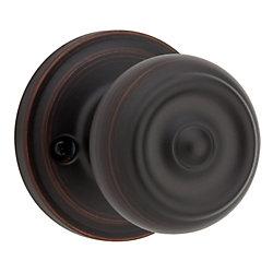 Phoenix single dummy knob - venetian bronze finish