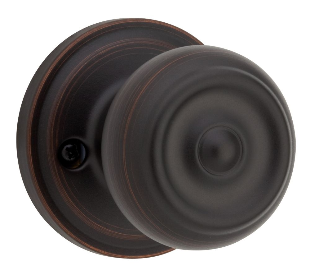 Weiser Phoenix single dummy knob - venetian bronze finish