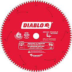 12 In. Non-Ferrous Plastic Blade - 96 Teeth
